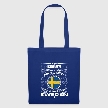 beauty comes from SWEDEN png - Tote Bag
