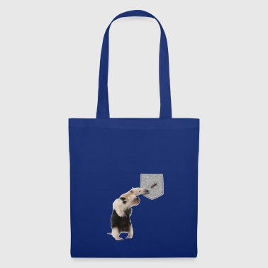 Anteater Reaching For Ant In Your Fake Pocket - Borsa di stoffa