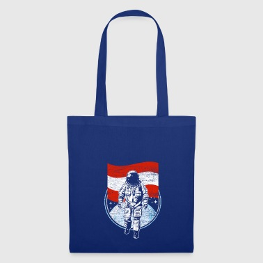 Astronaut with the flag of Austria gift - Tote Bag