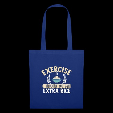 Exercice Extra Rice T-Shirt - Tote Bag
