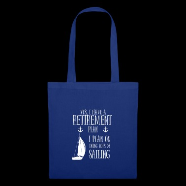 Sailing Retirement plan - Bolsa de tela