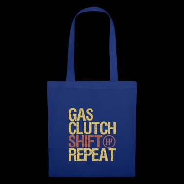 Gas clutch shift Repeat Car T-Shirt - Tote Bag