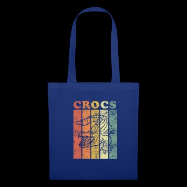 Crocodile animal dinosaure Eche Alligator cadeau - Tote Bag