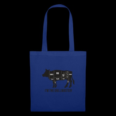 Grillmeister - Funny BBQ Quote - Gift - Tote Bag