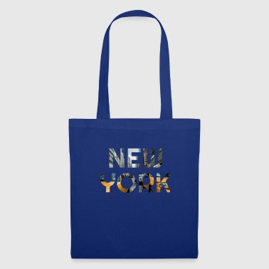 Skyline di New York City, NY, regalo - Borsa di stoffa