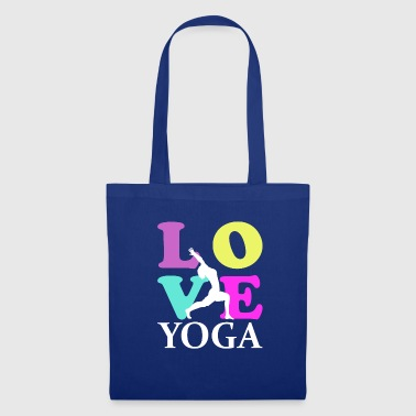 Love Yoga - Stoffbeutel