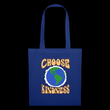 Scegli Kindness Planet Earth Spread e Stop Bully - Borsa di stoffa