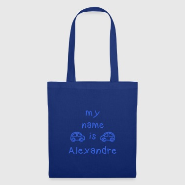 ALEXANDRE MY NAME IS - Tote Bag