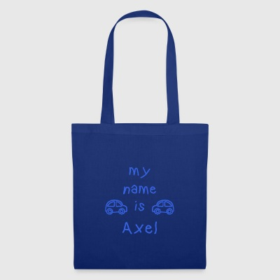 AXEL MY NAME IS - Tote Bag