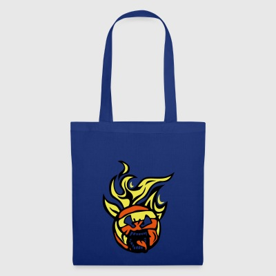 volleyball waterpolo cartoon 01 face flam - Tote Bag