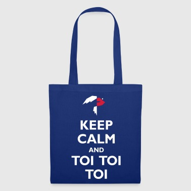 Keep Calm and Toi Toi Toi - Tote Bag