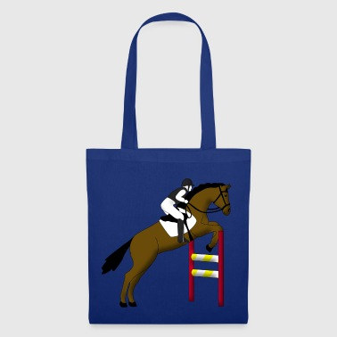 show jumping horse - Tote Bag