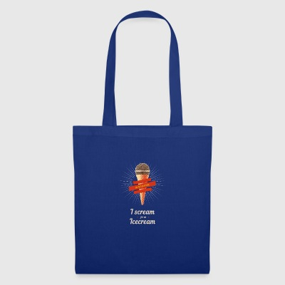 Ice karaoke music sing 60s retro microband son - Tote Bag