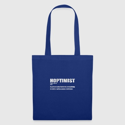 Hoptimist - craft beer T-Shirt - Tote Bag
