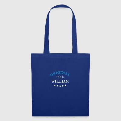 100% original William, cadeau - Tote Bag