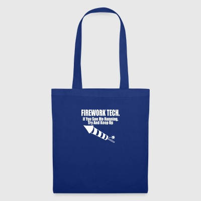 technologie fireqwork - Tote Bag