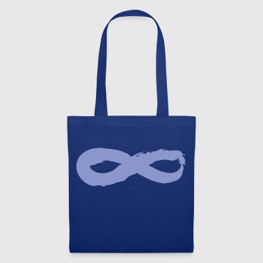 Yoga symbole infini Zen Blueberry - Tote Bag