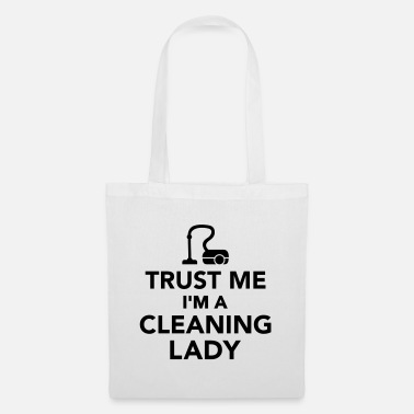 Vacuum Cleaner cleaning woman - Tote Bag