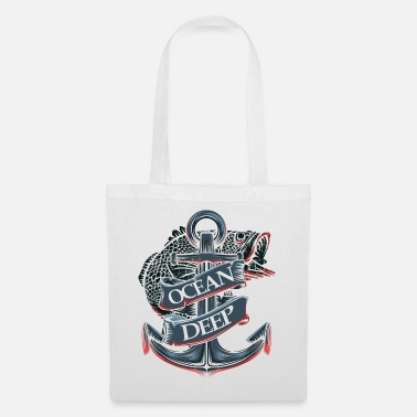 Nautical Nautical anchor - Tote Bag