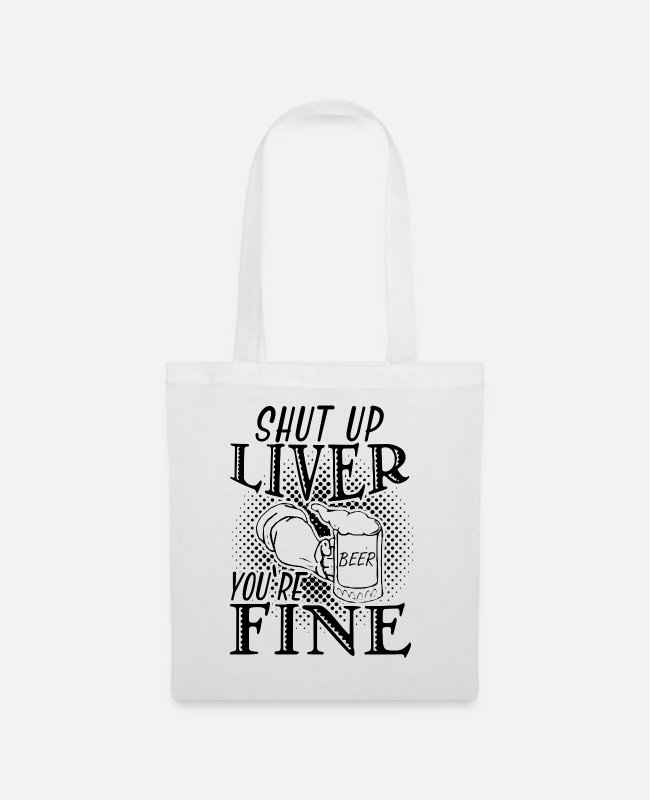 Celebrate Bags & Backpacks - Drink - Tote Bag white