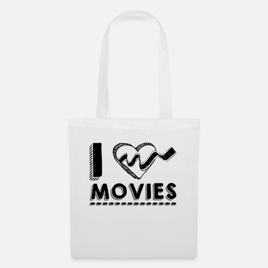 Movie Bags & Backpacks - movie fans - Tote Bag white