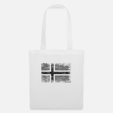 Tourist Norway Norwegian flag flag used-look - Tote Bag