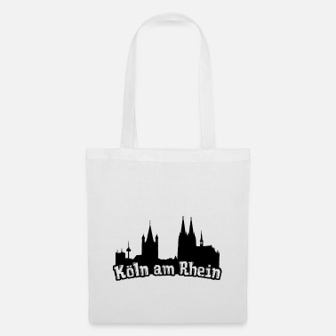 Cologne On The Rhine Cologne on the Rhine Kölsch Kölle Cologne Cathedral Rhineland - Tote Bag