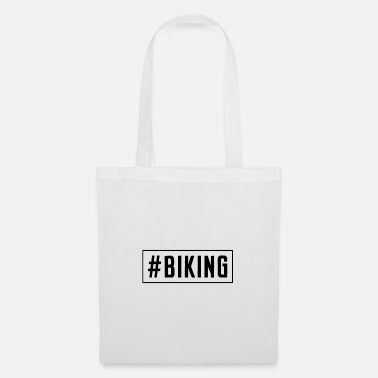 Bike BIKING bike mountains cycling bike riding - Tote Bag