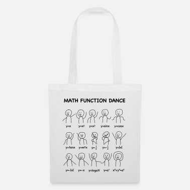 The Math Function Dance (Nerd Shirt) - Tote Bag