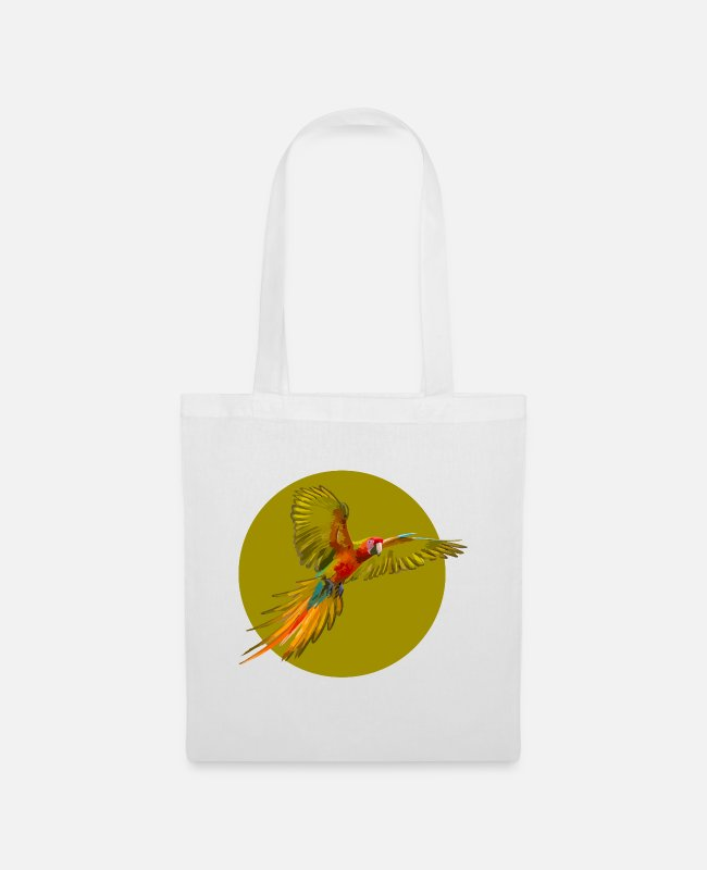 ARA Bags & Backpacks - parrot - Tote Bag white