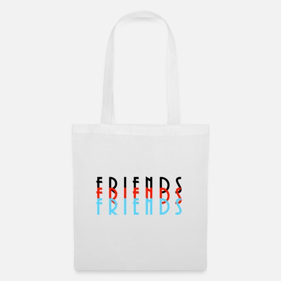 Gift Idea Bags & Backpacks - Friends - Tote Bag white