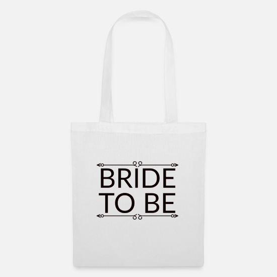 Hen Night Bags & Backpacks - bride to be, hen party for the bride - Tote Bag white