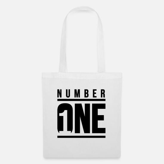 One Bags & Backpacks - Number ONE - Tote Bag white