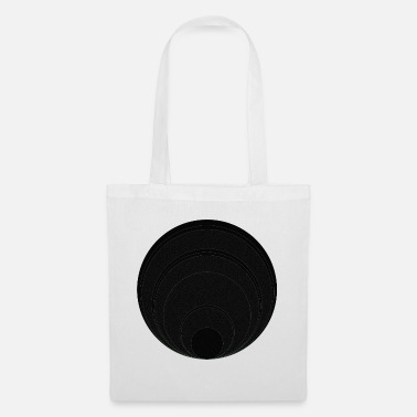 Circle Circle in circle in circle - Tote Bag