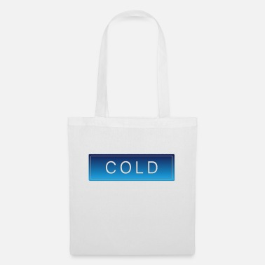 Froid Froid froid hiver froid noël - Sac en tissu