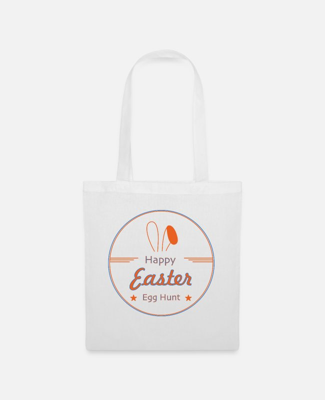 Easter Bags & Backpacks - Happy Easter - Tote Bag white