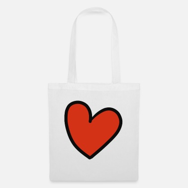 Crook crooked heart - Tote Bag