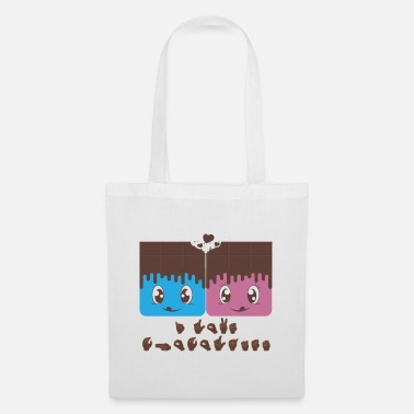 Sign I Love Chocolates, Sign Language, Sign Language - Tote Bag