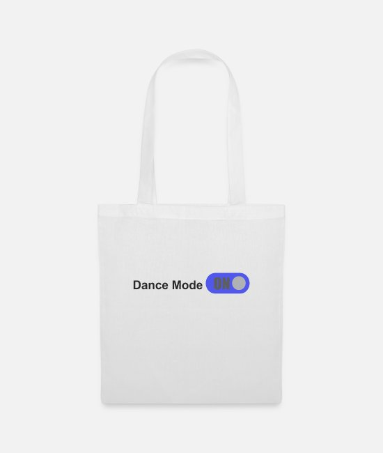 Festival Bags & Backpacks - Great Dance Fashion W Dance Shirt Gift Tee - Tote Bag white