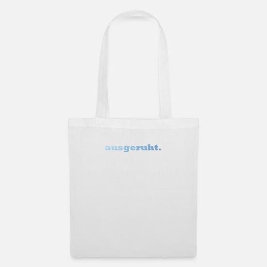 Stylish Bags & Backpacks - rested. - Tote Bag white
