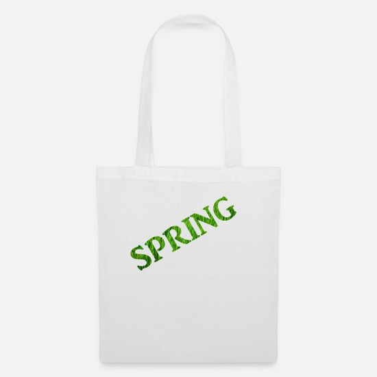 Love Bags & Backpacks - Spring - Tote Bag white