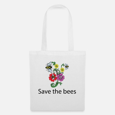 Save The Bees Planta estos Save The Bees Camiseta Save The Bees - Bolsa de tela