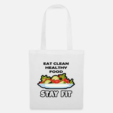 Eat Clean Eat clean food - Tote Bag