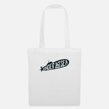 Under Water Submarine under water - Tote Bag