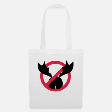 Antler No ass antlers - Tote Bag