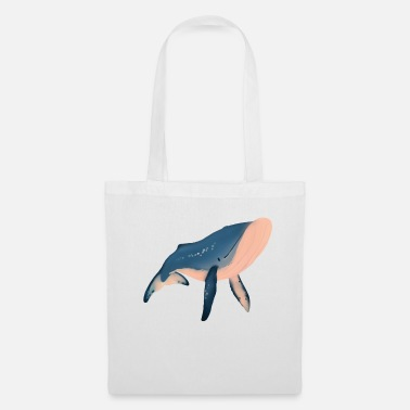 Illustration Illustration de baleine - Sac en tissu