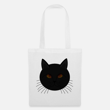 Superstition Superstition du chat noir - Sac en tissu