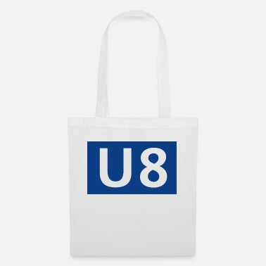 U8 Berlin subway - Tote Bag