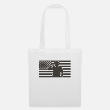 1st United States flag military - Tote Bag