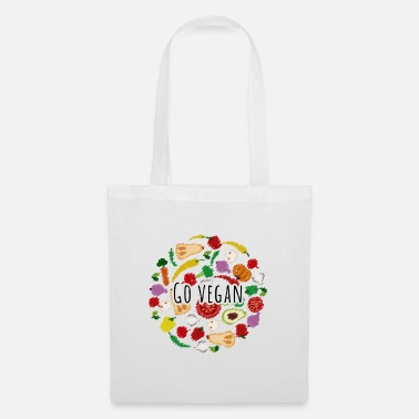 Vegan Vegan vegan vegan vegetables - Tote Bag